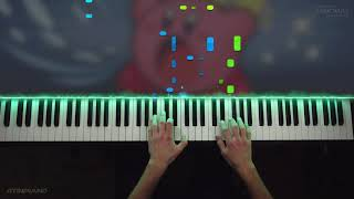 KIRBY MUSIC but it sounds RUSSIAN (Piano Cover) feat. LyricWul…