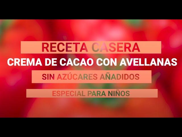 Recetas Saludables - Crema de Cacao Casera
