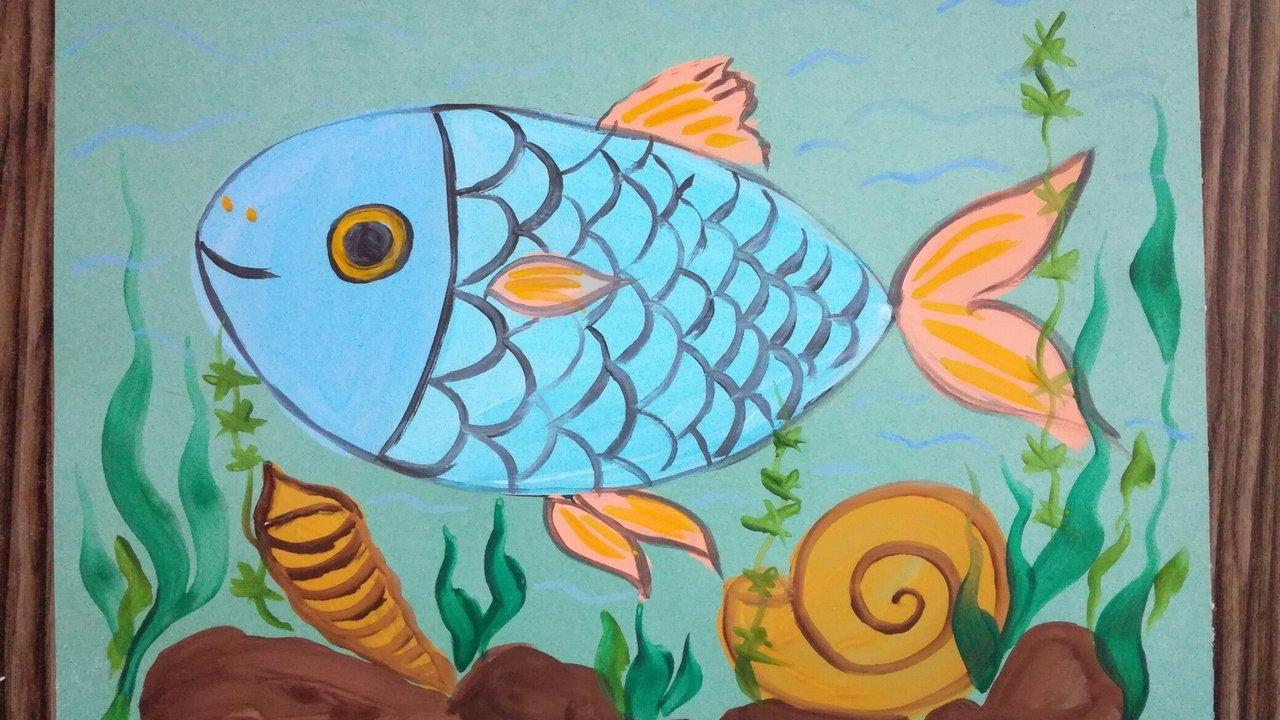 отзывы рисунок рыб в аквариуме красками покупки двери