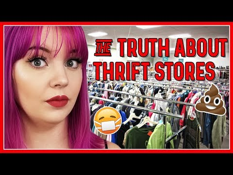 THE TRUTH ABOUT THRIFT STORES (& WHAT IT'S LIKE TO WORK IN ONE)