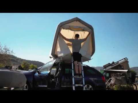 f2a9f70a75 The world s first fully inflatable roof top tent - GT Roof by GentleTent