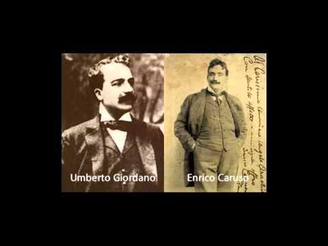 Giordano: Fedora -- Amor ti vieta -- Caruso 1902