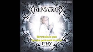 Crematory - When darkness falls (Inglés - Español)