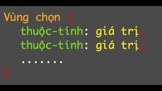 [Học CSS - 19] Cách làm menu ngang dropdown cơ bản