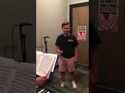 Cooper Miller  Red Rider audition