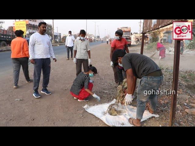 KALABURAGI MAHANAGAR PALIKE STARTED INTENSIVE CLEANING CAMPAIGN ACROSS THE RING ROAD