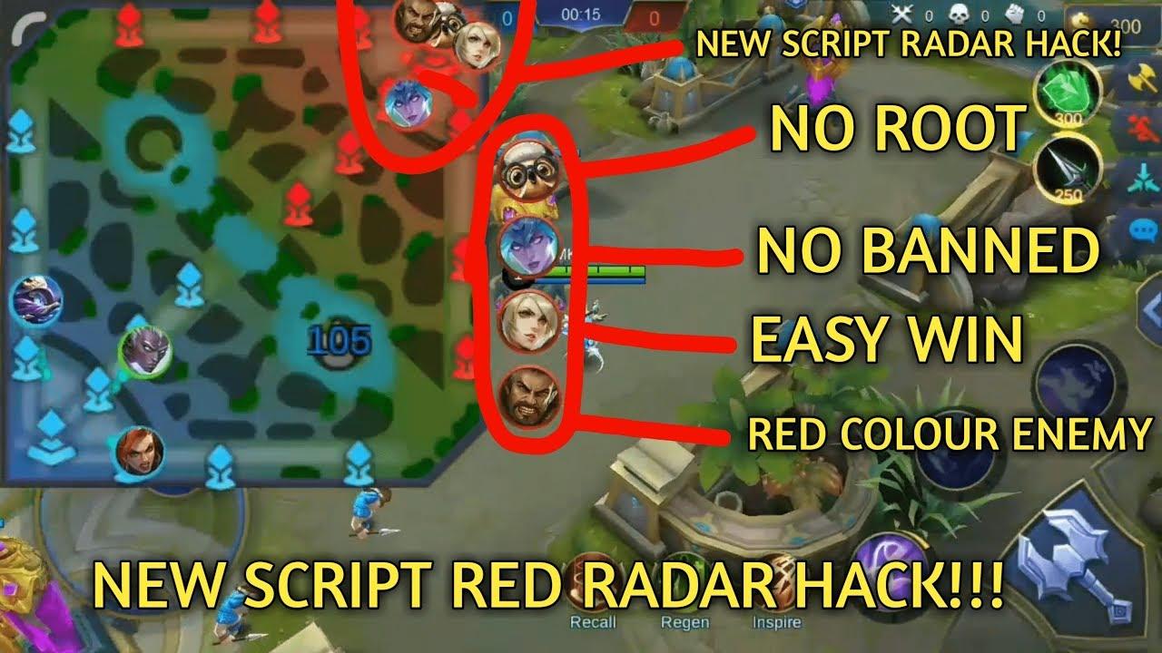 Script Radar Map Hack