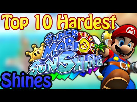 Top 10 Hardest Super Mario Sunshine Shines