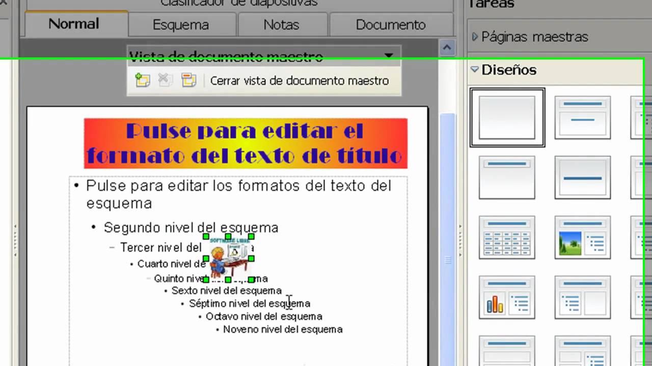 TEMA 2 - PRÁCTICA 13- PATRONES Y PLANTILLAS EN IMPRESS - YouTube