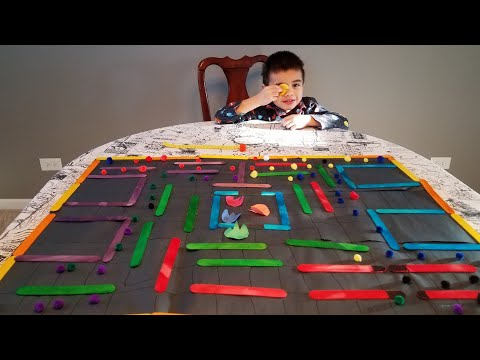 Father And Son Activity/PAC-MAN Board Game