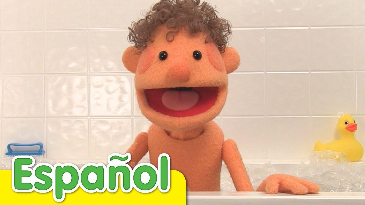 La Canción Del Baño  Canciones Infantiles  Super Simple ...