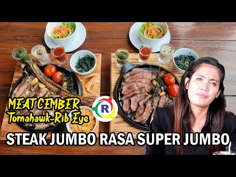 Steak Sapi Jumbo Tomahawk Hanya Ada di Cirebon
