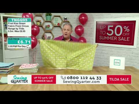 Sewing Quarter - 20th July 2017