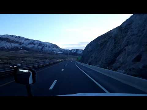 Bigrigtravels Live! - Fernley to Sparks, Nevada - Interstate 80 Westbound - February 27, 2017