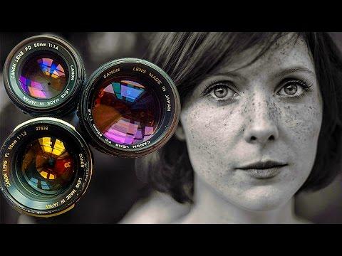 Shooting Amazing Portraits Using Vintage Lenses!