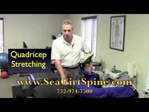 Quad stretching exercises for knee surgery rehabilitation Seaside Heights NJ