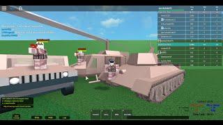 [Roblox Armored Patrol] More Random Tank Battles also Heilcopters