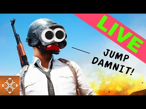JUMP DAMNIT! - THE GAMER PLAYS PlayerUnknown's Battlegrounds (PUBG NEWBIE)