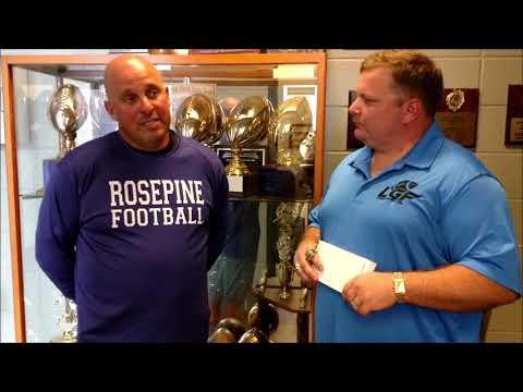 Head Coach Brad Ducote Rosepine High School Interview