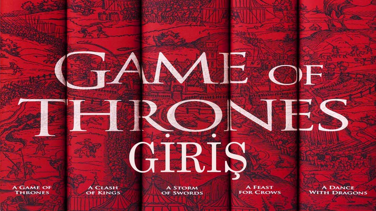 Game of Thrones: Taht Oyunları | Giriş (Sesli Kitap)