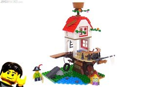 LEGO Creator Treehouse Treasures 3-in-1 review! 31078