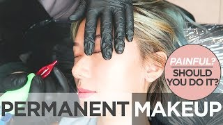 Permanent Makeup? My Eyeliner Tattoo And Lash Lift Experience | Camille Co