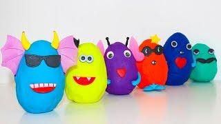Сюрпризы Герои в масках Игрушки Щенячий патруль Сборник Развивающие мультики для детей Учим цвета