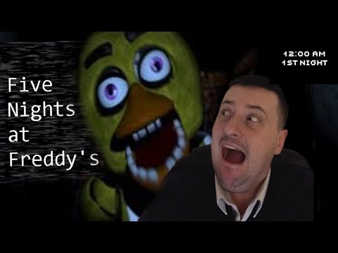 5 Nights at Freddy's :-/ arrrrrrrrrgh! that damn duck is getting closer!