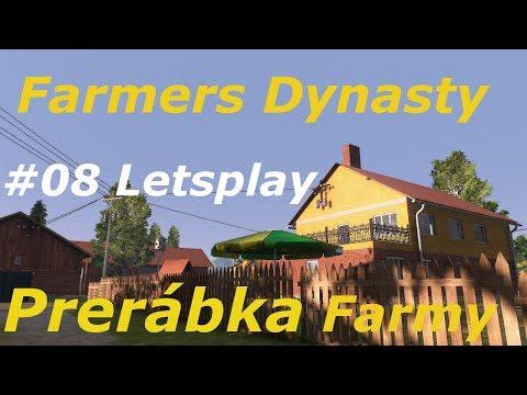 Prerábka farmy/Farmers  Dynasty#8letsplay[720p 50fps]