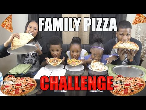 Thumbnail: Pizza Challenge Family Edition🍕