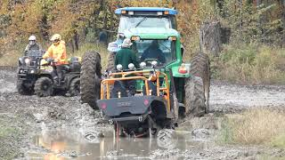 When You Need 2 Tractors to Pull your Mega Truck from Mud Pit Off-Road Mudding