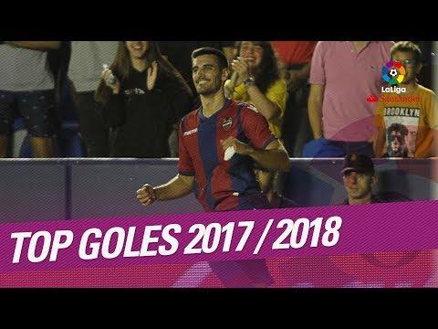 TOP Goles LaLiga Santander 2017/2018