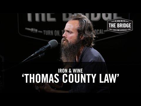 Iron & Wine - 'Thomas County Law' | The Bridge 909 in Studio