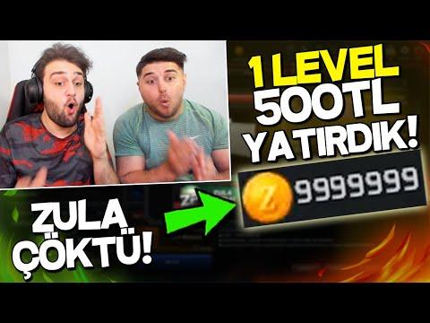 GROWE İLE ÇILDIRDIK!! 1 LEVEL HESABA 500TL YATIRIP SIFIRDAN FULLEDİK! ZULA