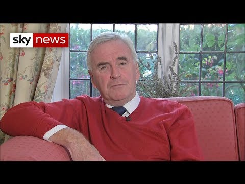 Shadow chancellor responds angrily to former head of MI6 comments