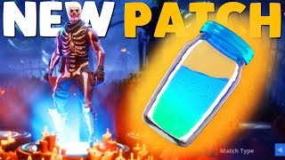 HALLOWEEN UPDATE / LEADERBOARDS / PATCH NOTES | Fortnite Battle Royale