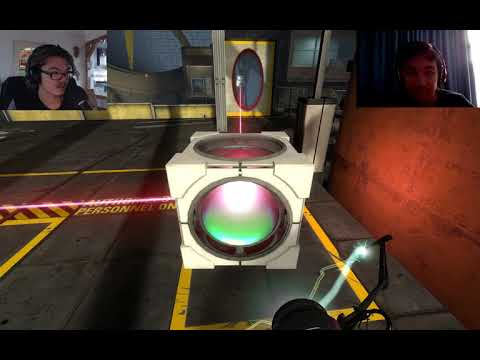 2 Idiots Try To Play Portal 2 (with Inteli5gamer)