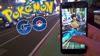 COMBATE EN TIMES SQUARE! Pokemon GO - [LuzuGames]
