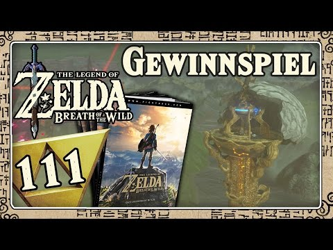 THE LEGEND OF ZELDA BREATH OF THE WILD Part 111: Zelda BotW Lösungsbuch Gewinnspiel!