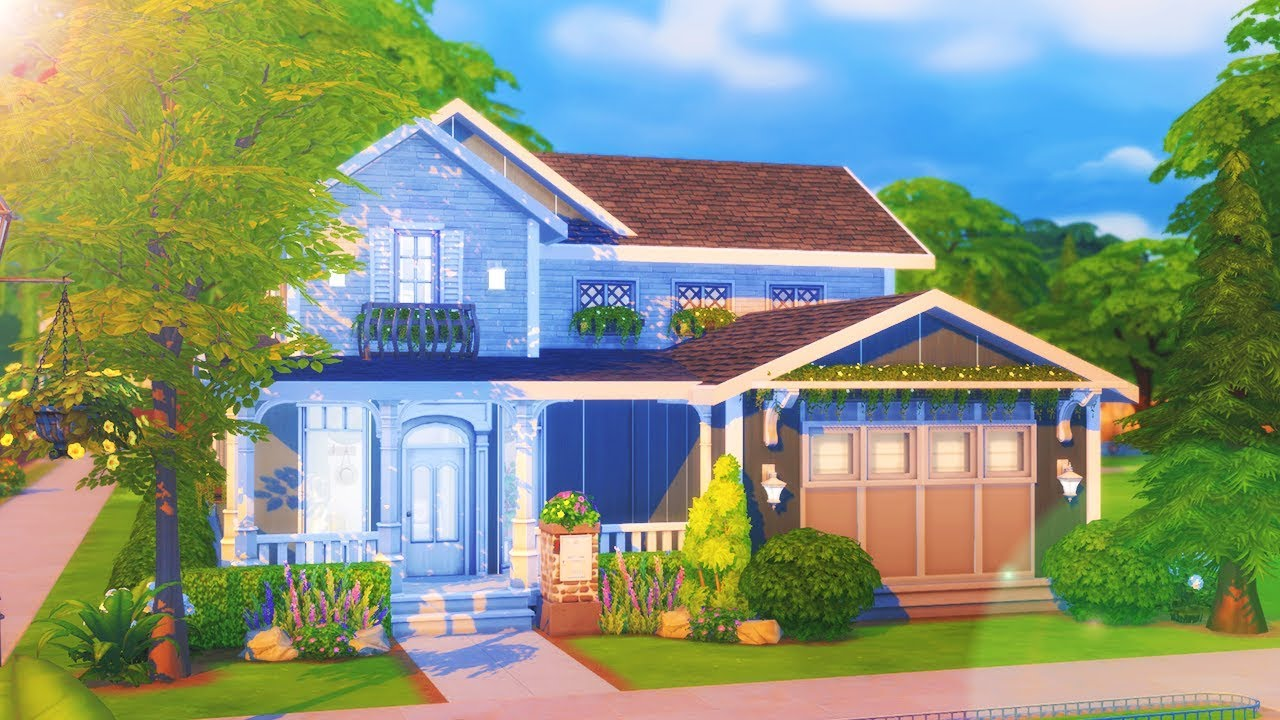 Dreamer 39 s haven the sims 4 speed build youtube for Build a home online free