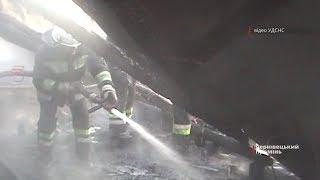 Рятувальники врятували з вогню непритомну буковинку, яка отруїлася чадним газом