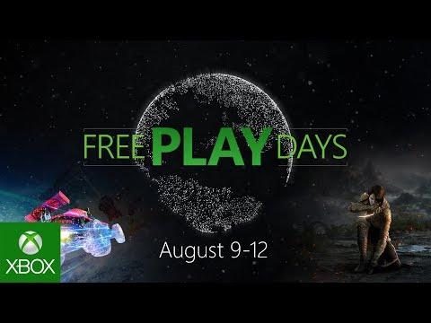Free Play Days Xbox Live kostenlos vom 9. bis 12. August (Xbox One ...