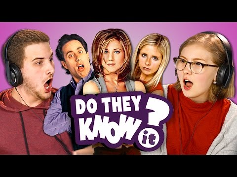 Thumbnail: DO TEENS KNOW 90s TV SHOWS? (REACT: Do They Know It?)