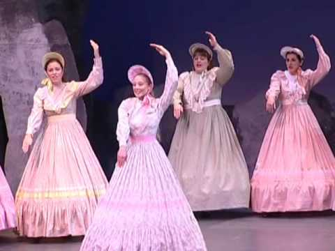 The Pirates of Penzance - Chorus of girls - Climbing over rocky mountain