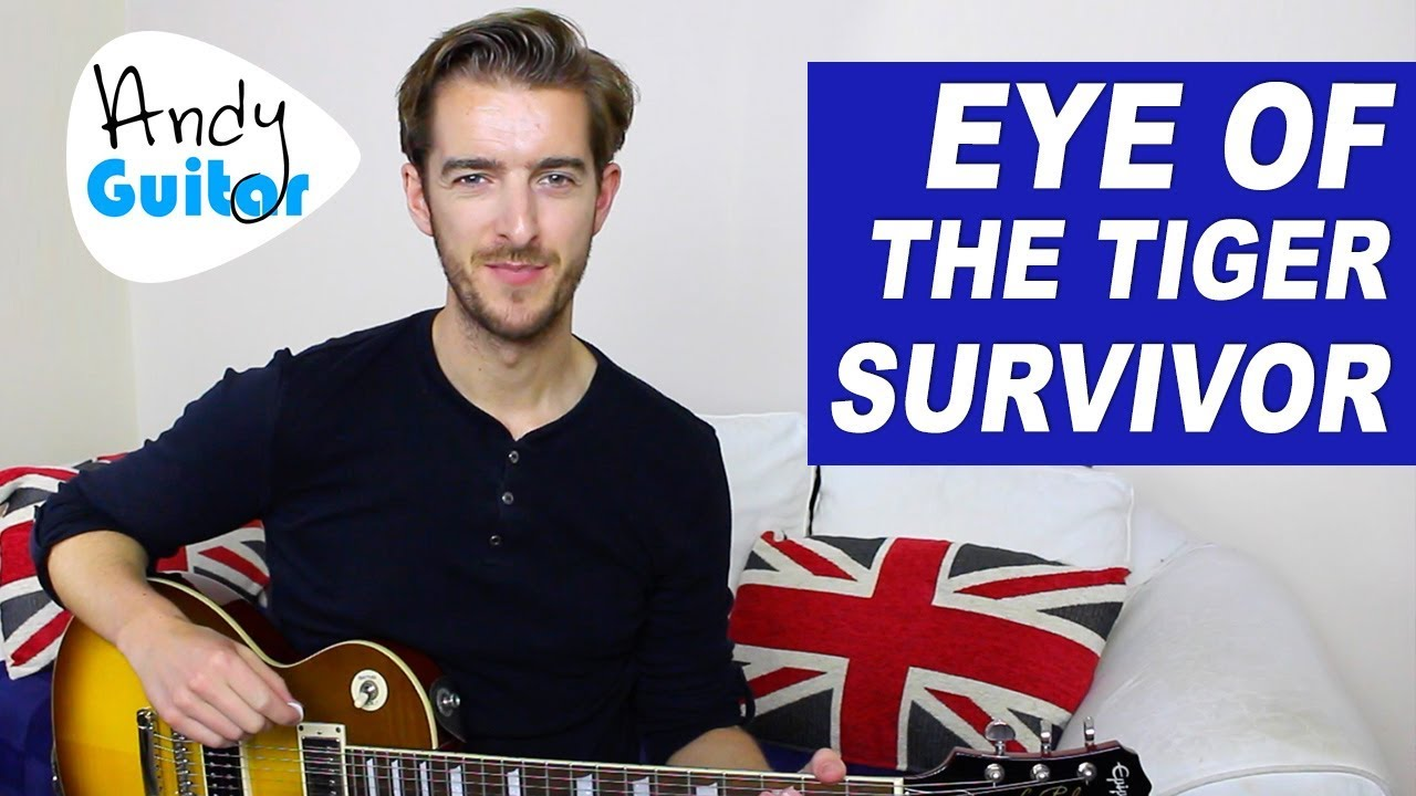 eye of the tiger guitar lesson easy electric guitar songs youtube. Black Bedroom Furniture Sets. Home Design Ideas