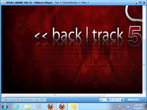 Step by step reaver and Backtrack 5 WPA WPA 2 crack wireless