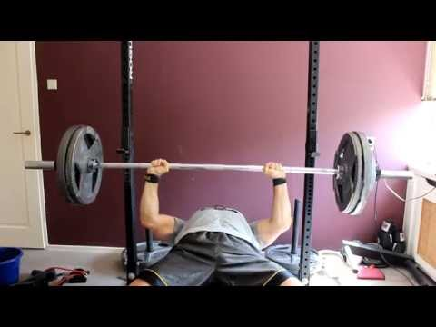 Calisthenics Athlete does Bench Press for first time!