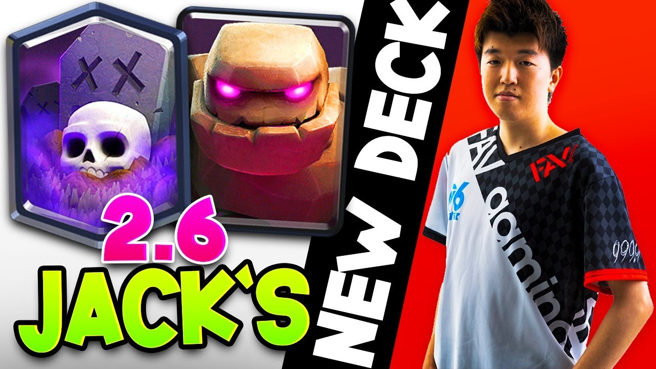 2.6 JACK HAS GONE TO THE DARK SIDE w/ THIS DECK!