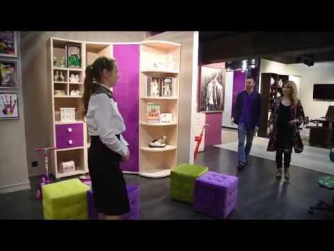 Покупка детской мебели «Lazurit» в МЦ ROOMER