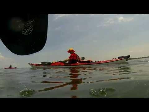 City Island Kayak Circumnavigation, New York. June 2013.